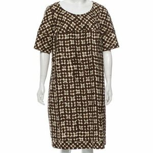 MaxMara Patterned Tent Dress sz 12